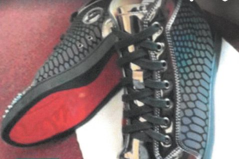 Ex-firefighter could get 25 years for armed robbery of Christian Louboutin sneakers