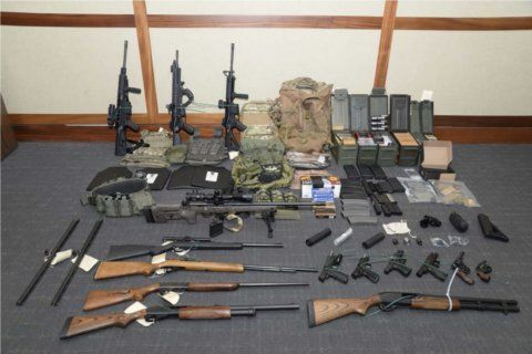 Md. Coast Guard lieutenant pleads guilty to gun and drug crimes