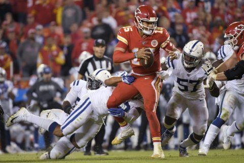 Chiefs lose, leave Pats, Niners as NFL's lone unbeaten teams