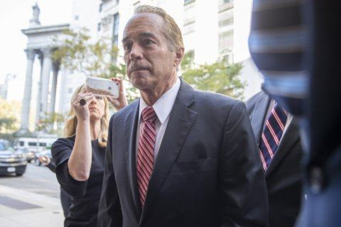 The Latest: Ex-Rep Chris Collins pleads guilty in stock case