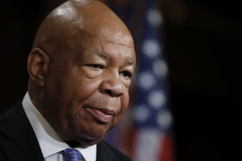 Cummings lying in repose at historically black college