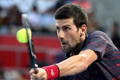 Djokovic overpowers Goffin to reach Japan Open final