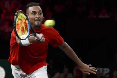 Kyrgios to play Davis Cup for Australia, despite probation