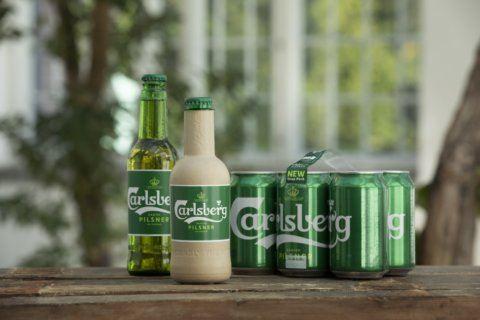 Tastes great, less land-filling … beer in a paper bottle