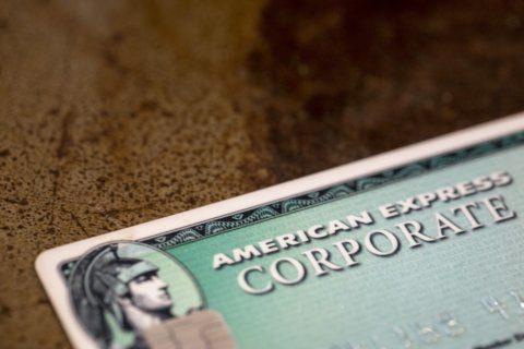 American Express 3Q profits rise 8%