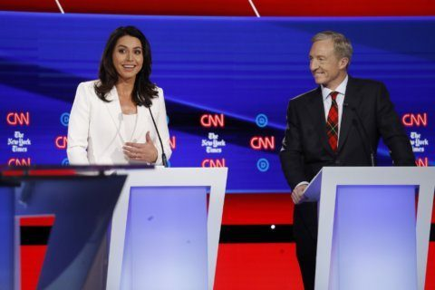 Tulsi Gabbard elevated in Iowa by Clinton spat