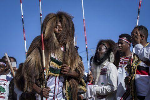 Ethiopians celebrate thanksgiving festival in the capital
