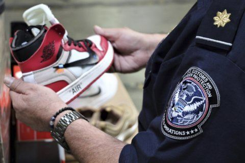Shipment of fake Nike shoes seized in Southern California