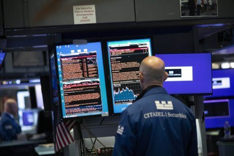 Asian shares track Wall St losses on weak US factory data