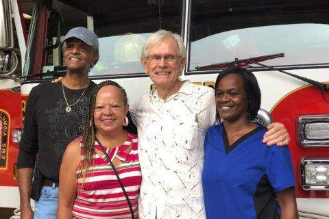 'Grateful Joe' who had heart attack meets his lifesavers in DC