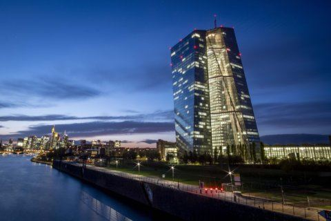 Eurozone inflation revised down to near 3-year lows