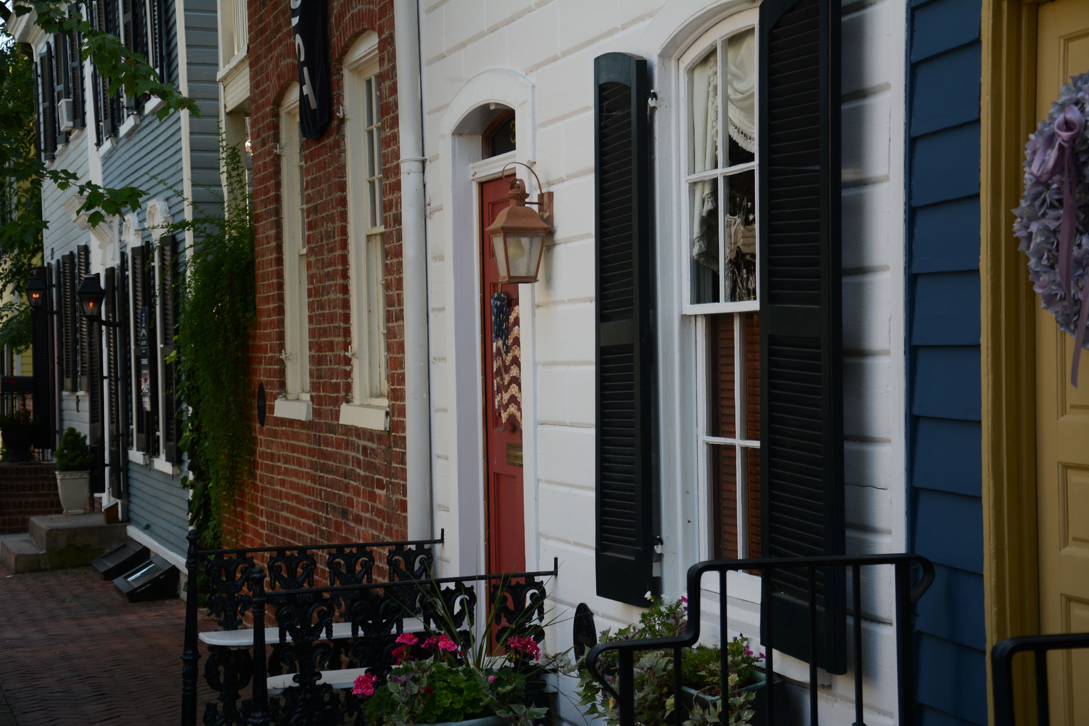 Charming townhouses in OldTown Alexandria