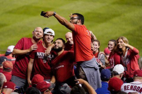 PHOTOS: Nats fans show off their 'Natitude'