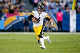 "<p><b><i>Steelers 24</i></b><br /> <b><i>Chargers 17</i></b></p> <p>On a night when the literal last man standing among the QB Class of &#8217;04 was supposed to <a href=""https://profootballtalk.nbcsports.com/2019/10/12/rivers-closing-in-on-eli-ben-on-career-passing-yards-list/"" target=""_blank"" rel=""noopener"">strut past his contemporaries</a>, Philip Rivers was outplayed in his own stadium by <a href=""https://twitter.com/SNFonNBC/status/1182784388863614977?s=20"">undrafted duck caller Devlin Hodges</a> to fall from playoff contender to last-place afterthought.</p> <p>But give Mike Tomlin credit: Pittsburgh is some <a href=""https://www.cbssports.com/nfl/news/juju-smith-schuster-calls-overtime-fumble-that-led-to-steelers-loss-the-worst-feeling-ever/"">bad JuJu</a> away from going 3-0 after their 0-3 start, even amid an onslaught of injuries and <a href=""https://www.espn.com/nfl/story/_/id/27835125/source-mike-tomlin-redskins-far-fetched-browns-gm-denies-obj-trade-rumor"">bogus rumors</a> of leaving the Steel City for a quasi-homecoming in Washington. This probably isn&#8217;t a playoff team but it&#8217;s one that won&#8217;t be an easy game on the schedule.</p>"