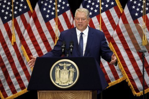 Former Vice President Gore to speak during climate event
