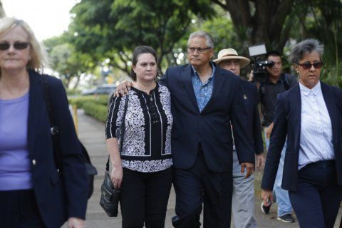 Ex-Honolulu police chief, estranged wife plead guilty