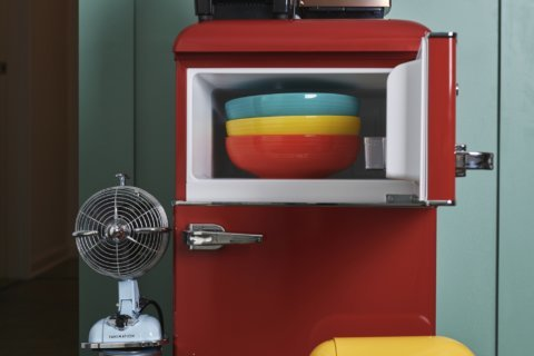 A splash of color can refresh the kitchen without a remodel