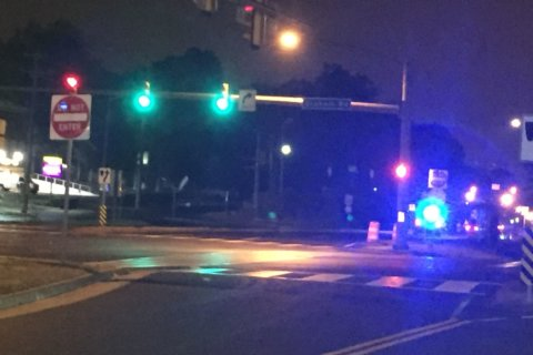 Fairfax Co. police: Pedestrian struck, killed by cruiser was crossing against red light