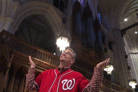 Washington 'Nationals' Cathedral? How the church goes 'all in' to support the Nats at World Series