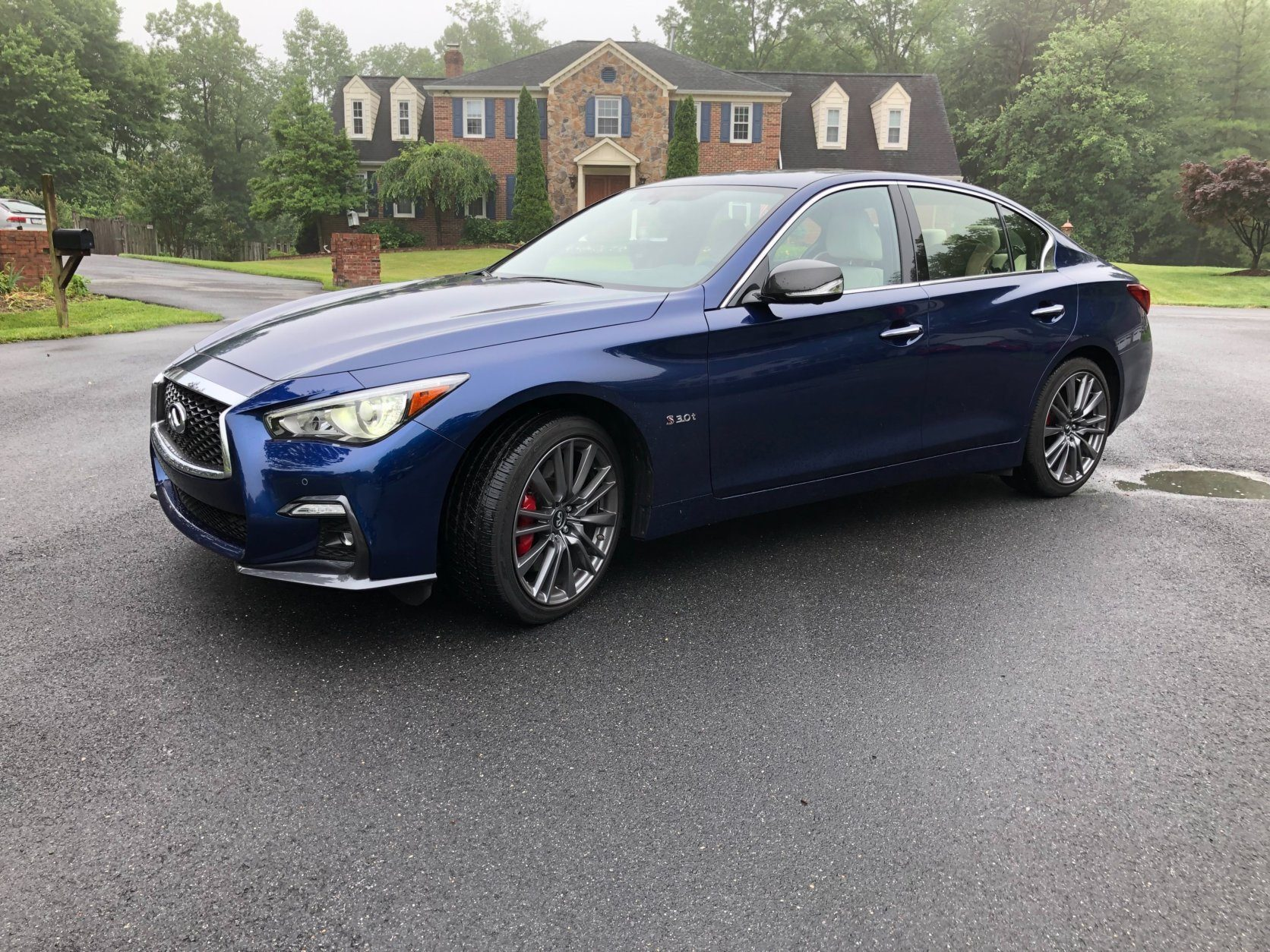 Big Red Sports >> Car Review Infiniti Q50 Sports Red Awd Packs A Big Punch Wtop