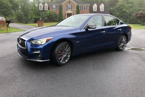 Car Review: Infiniti Q50 Sports Red AWD packs a big punch