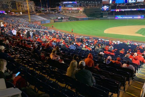 Limited number of tickets left for free Game 7 watch party at Nats Park
