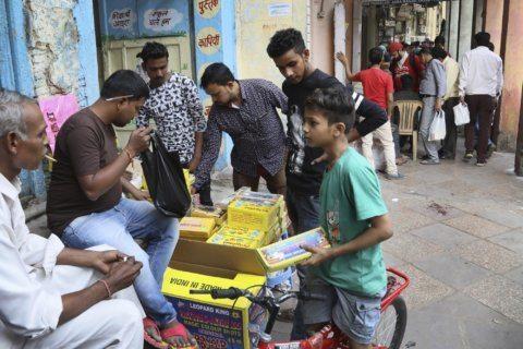 India hopes 'green' fireworks, light show dim Diwali impact