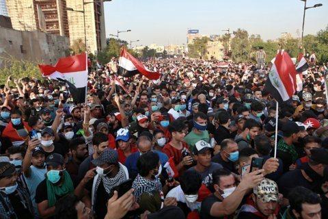 Anti-government protests rage in Iraq, 7 killed