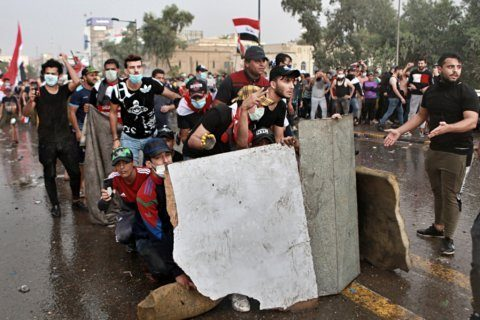 Protests rattle the postwar order in Lebanon and Iraq