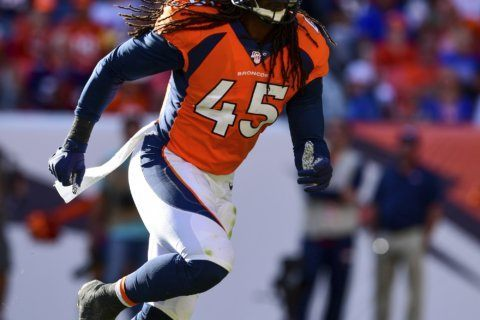 Broncos LB Johnson making most of chance after long layoff