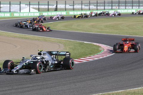 Mercedes driver Bottas wins Japanese Grand Prix