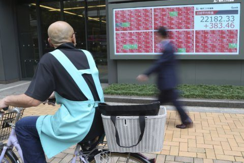 World shares mostly higher ahead of earnings reports