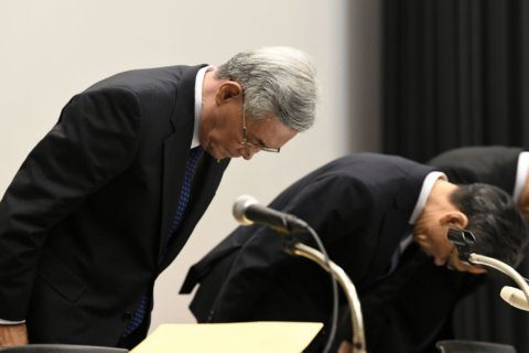 Japan utility head quits over gifts from town official
