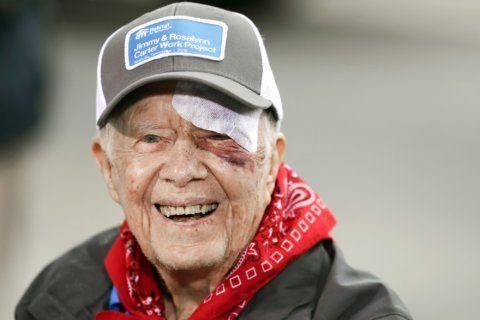 Jimmy Carter to teach Sunday school despite broken pelvis