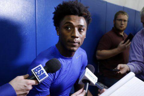 Kentucky sophomore Hagans works on his offense, leadership