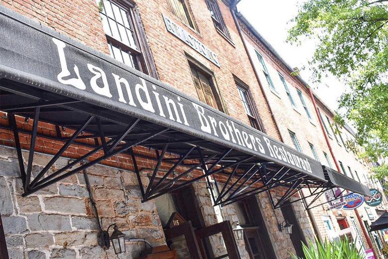Landini Brothers restaurant in Alexandria