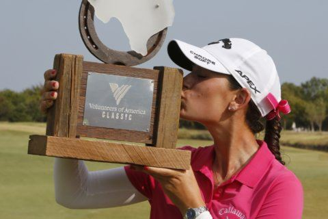 Cheyenne Knight wins 1st LPGA Tour title at home in Texas