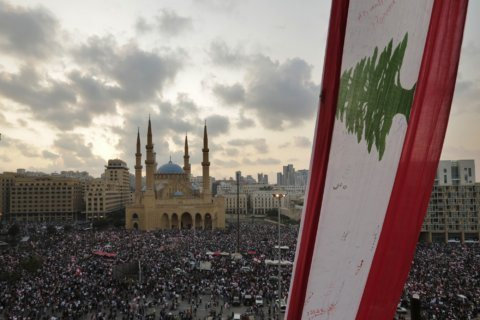 Protesters remain despite Lebanese PM's reform package