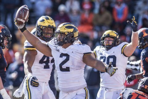 Michigan's hopes in East could hinge on visit to Penn State