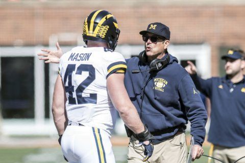 No. 16 Michigan starts closing stretch at No. 7 Penn State