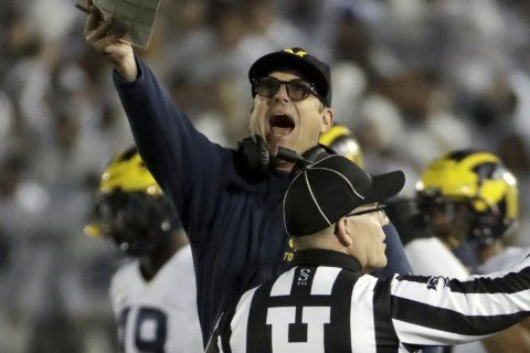 No. 19 Michigan relegated to playing for pride this season