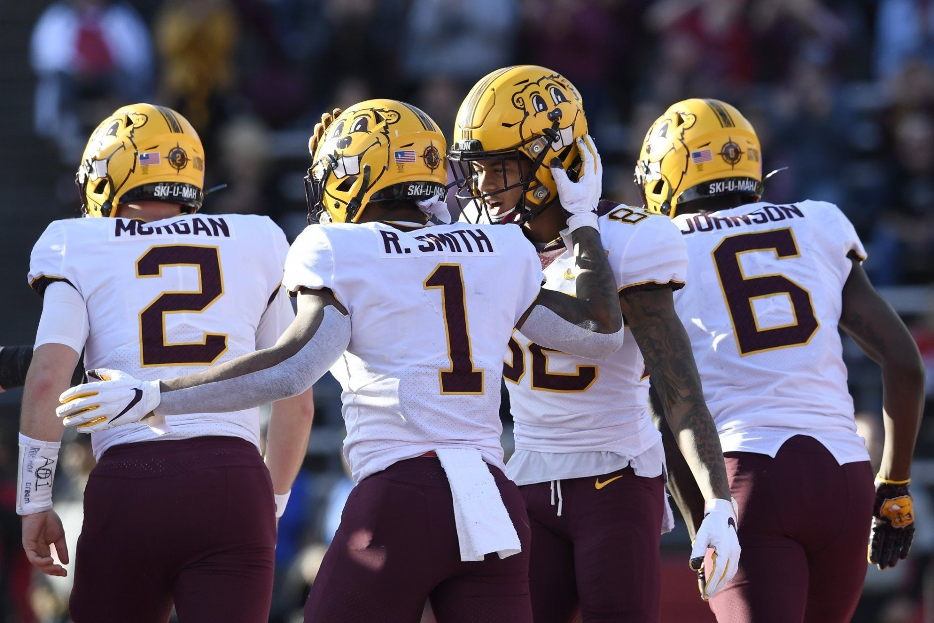 <p><strong>No. 17 Minnesota (8-0): </strong>Win Big Ten West with one or fewer losses, win Big Ten championship game</p> <p>The lowest-ranked undefeated team remaining, the Gophers lack any true marquee wins. But they'll certainly have the chance to change that, facing Penn State, Iowa and Wisconsin all this month. Win out, they're in. Lose one of those games and they'll still win the Big Ten West. Would that, plus a conference title be enough?</p>