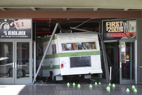 Woman drives motorhome into casino after she's kicked out