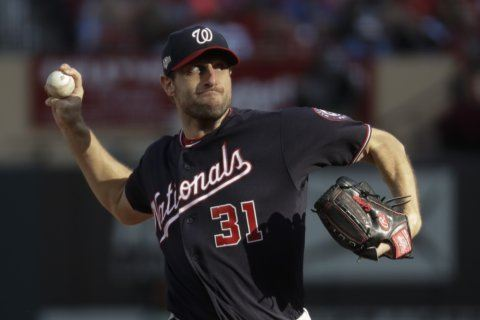 Nats' Scherzer won't start Game 5 of World Series due to neck and back spasms
