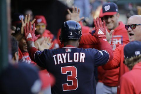Michael A. Taylor, Nationals agree to $3.3 million deal