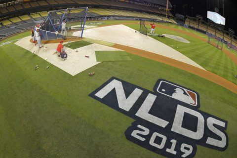 4 rookies make Dodgers roster for NLDS