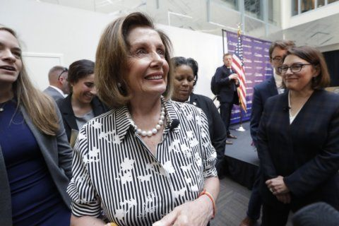 Pelosi calls Trump 'potty-mouth' after his remarks on Biden