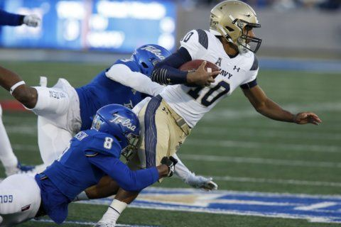 Navy, South Florida ride momentum into key conference game
