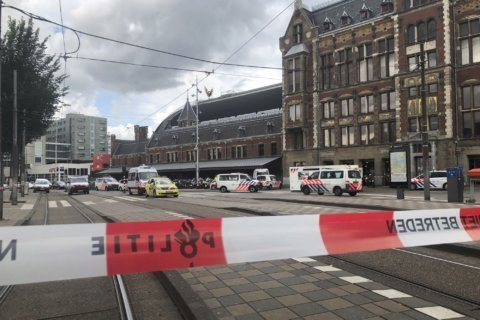 Dutch court convicts asylum-seeker in  station terror attack