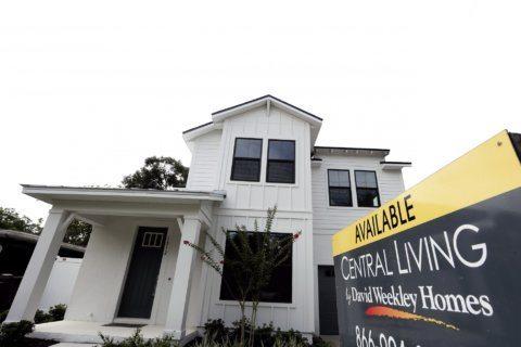 US new homes sales fell 0.7% in September